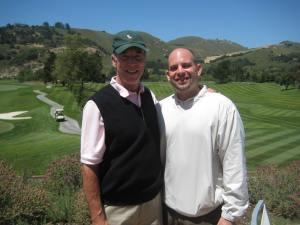 Golfing with Michael Mondavi