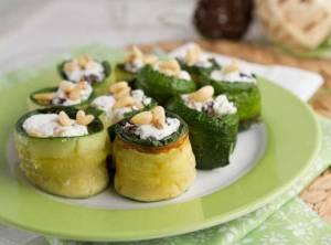 Zucchini-Rolls