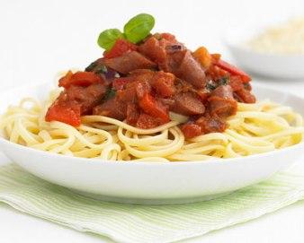 pasta-sausage