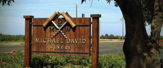 Michael-David_winery_sign