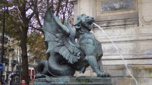 Griffin at St. Michael's Square