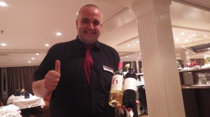 Bartender Plamen with French Varietals