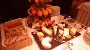 Fruit & Cheese from the Galley