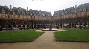 Place de Vosges, Marais