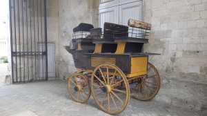 Chateau Bizy Royal Carriage