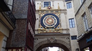 Rouen Gilded Clock