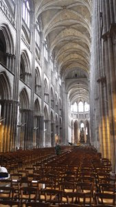 Towering Cathedral Nave