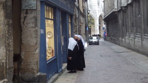 Window Shopping Nuns