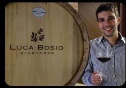 Luca Bosio, winemaker