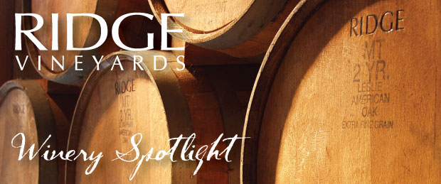 Ridge Vineyards Tasting Event