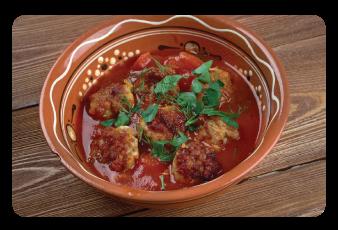 spanish turkey meatball