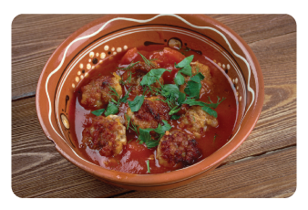 spanish turkey meatball