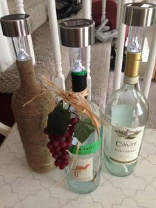 solar light wine bottles winestyles