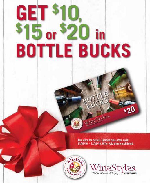 bottle bucks promotion