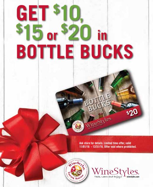 bottle bucks promotion