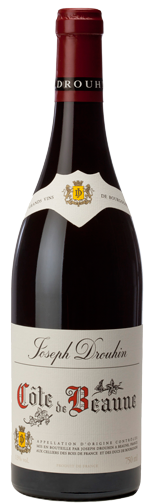 Joseph Drouhin Cote de Beaune wine bottle