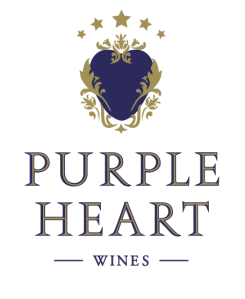 purple heart wine logo