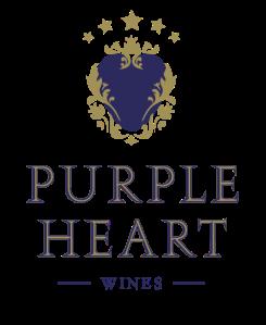 purple heart wine logo