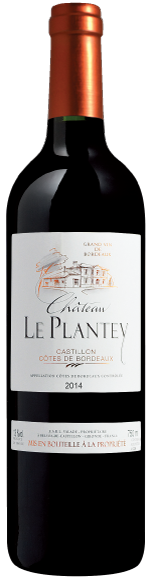 Plantey wine bottle image
