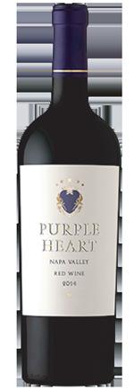 purple heart wine bottle