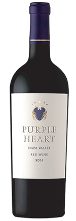 purple heart wine bottle