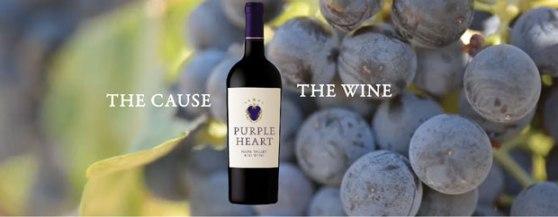purple heart wine image