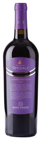 Santa Venere Speziale Rosso bottle wine