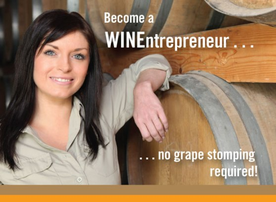Become a Wine entrepreneur