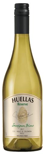 Huellas Reserve Sauvignon Blanc wine bottle