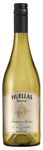 Huellas Reserve Sauvignon Blanc wine bottle