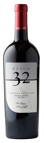 Ranch 32 Cabernet wine bottle