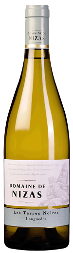 Domain de Nizas wine bottle