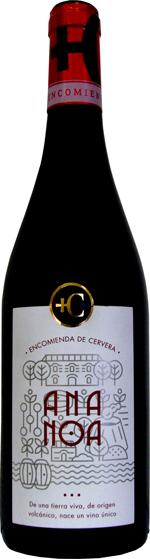 Ananoa Syrah wine bottle