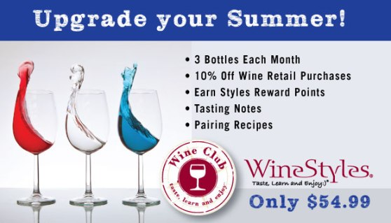 Upgrade your summer 3 bottle wine club