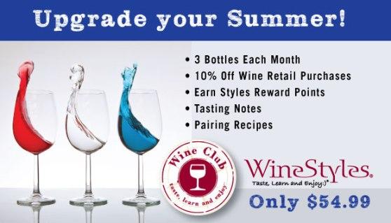 Upgrade your summer 3 bottle wine club