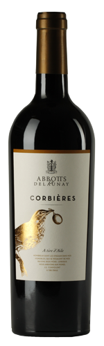 Corbieres wine bottle