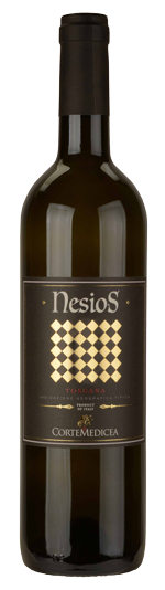 Nesios Tuscany wine bottle