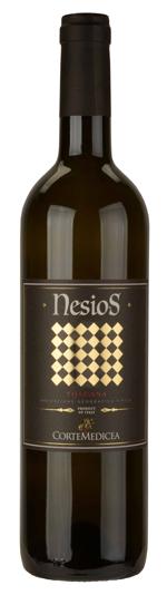 Nesios Tuscany wine bottle