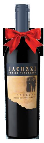Jacuzzi Barbera bottle