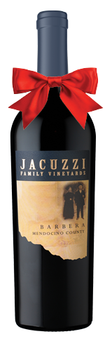 Jacuzzi Barbera bottle
