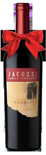 Jacuzzi Nebbiolo wine bottle