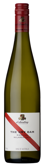 The Dry Dam wine bottle