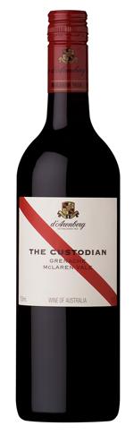 Custodian Grenache wine bottle