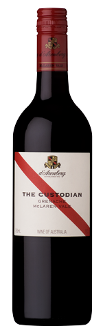 Custodian Grenache wine bottle