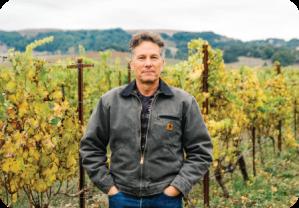 Winemaker Charlie Tsegeletos