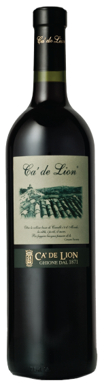 Ca De Lion Wine Bottle