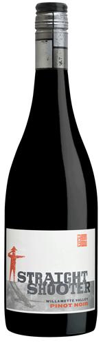 Straight Shooter Pinot Noir bottle