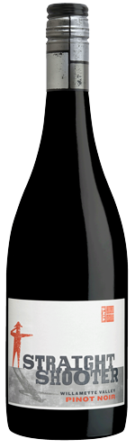Straight Shooter Pinot Noir bottle