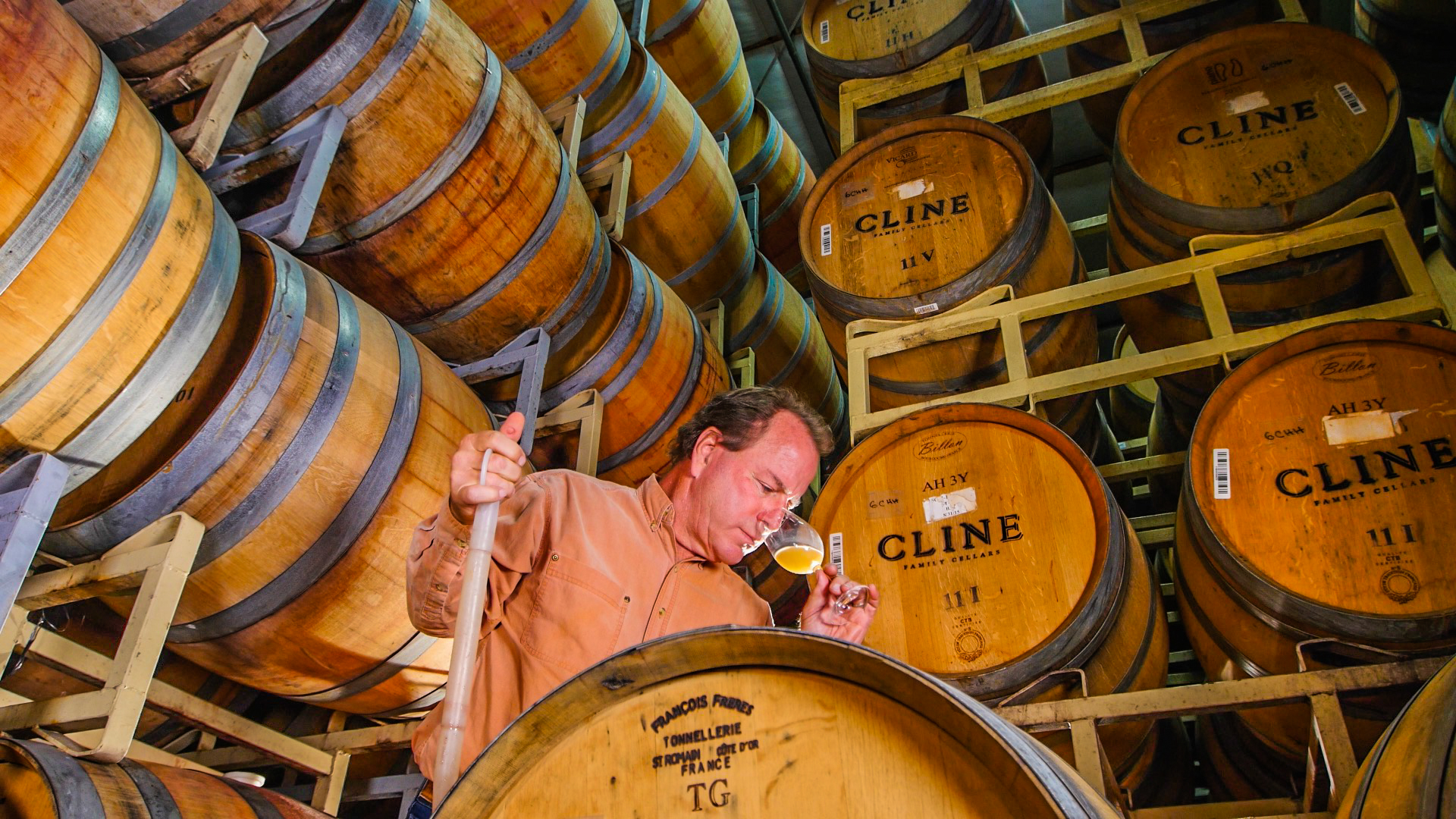 Fred Cline Winemaking