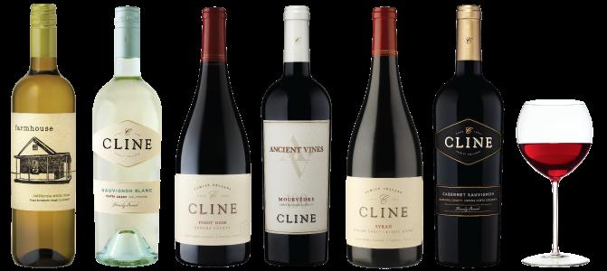 Cline Cellars Wine Tasting